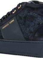 Ink Blue Propulsion Mid Hybrid Python Sneaker