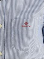 Blue Striped Broadcloth Striped Shirt