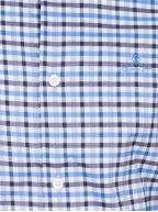 Atlantic Blue Check Regular Fit Shirt