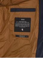 Navy Hooded Padded Jacket