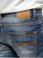Grim Tim Worn In Broken Blue Jean