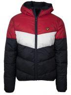 Coloured Lightweight Puffer Jacket