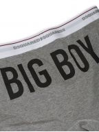 Grey 'Big Boy' Print Trunk