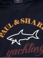 Blue Three Colour Logo T-Shirt
