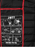 Black MAT Down Filled Jacket