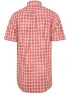 Blood Orange Check Short-Sleeve Shirt