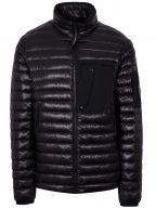 Black Quilted Lens Jacket