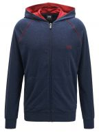 Navy & Red Speckled Mix & Match Hooded Sweatshirt