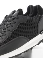 Black Caledonian Slick Sneaker