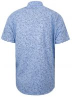 Rash Blue Short Sleeve Floral Shirt