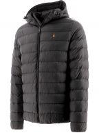 Black Strickland Wadded Jacket