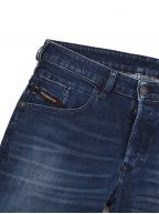 "Tapered Stretch D Bazer Blue Jean 32"" Leg"