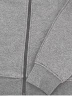 Hooded Lightweight Bi material Sweatshirt