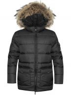 Black Authentic Matte Jacket