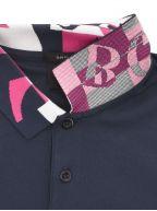 Navy Paule 2 Polo Shirt