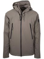 Grey Pro Tek Hooded Jacket