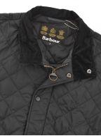 Black Chelsea Sports Quilt Jacket