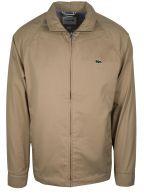Viennese Beige Cotton Harrington Jacket