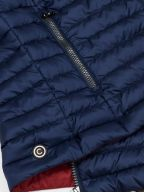 Navy Blue Down Filled Gilet