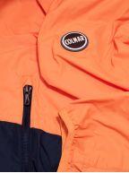 Orange and Navy Waterproof Jacket