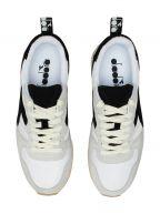 White & Black Camaro Vintage Sneaker