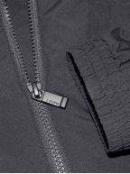 Navy Hooded Windbreaker Jacket