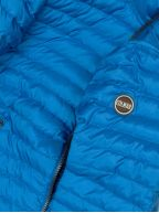 Shazam Blue Down Filled Hooded Jacket
