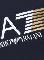 Navy Print Logo T-Shirt