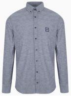 Mabsoot Navy Long Sleeve Shirt