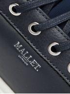 Kingsland Navy Leather Sneaker