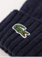Navy Lacoste Wool Gloves Gloves