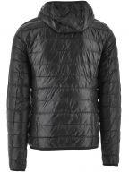 Black Down Slim Fit Jacket