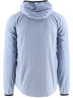 Pale Blue GD Hooded Overshirt