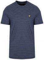 Navy Fine Stripe T-Shirt