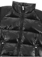 Black Vintage Mythic Down Jacket