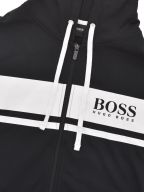 Black Authentic Hooded Jacket