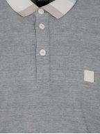 Polarized Grey Polo Shirt