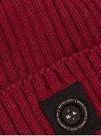 Micro Siren Red Beanie
