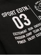 Black Cool Fit Sweatshirt