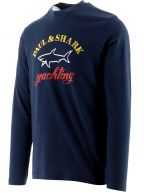 Navy Chest Logo T-Shirt