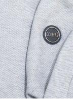 Woven Grey Metal Logo Sweatshirt