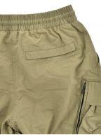 Green Cotton Polyamide 420 Cargo Short