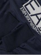 Navy Blue Polyester Tracksuit