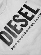White Just Logo T Shirt