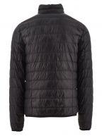 Black Down Filled Lightweight Slim Fit Jacket