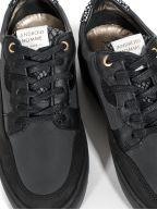 Black Omega Arc Python Sneaker