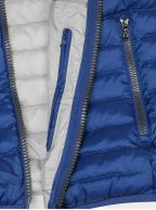 Shake Blue Lightweight Down Filled Jacket