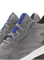 Grey Titanium Runn Reflective Sneaker