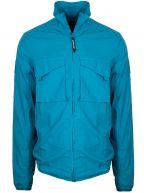 Aqua Garment Dyed Overshirt