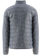 Grey Down Filled Lightweight Slim Fit Jacket